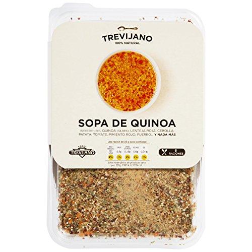 TREVIJANO sopa de quinoa bandeja 200 gr