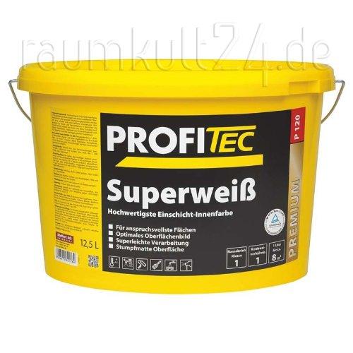 ProfiTec P120 Superweiß (5 Liter)