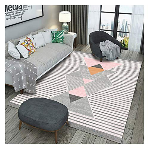 Takeashi Area Rug For Kitchen, Living Room, Bedroom, Laundry, Doorway, Slip Resistant Runner Rug, Comfortable Cute Floor Carpets, Indoor Or Outdoor Use Sky Blue