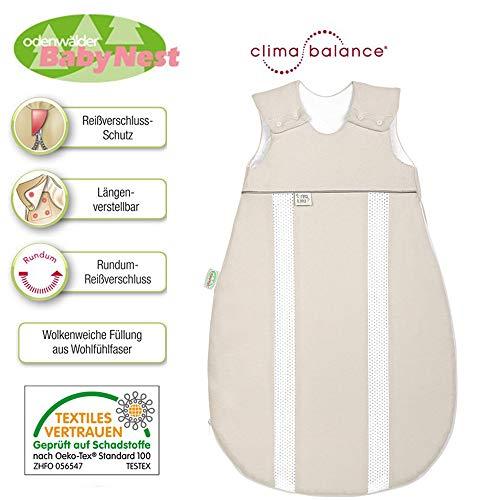 Odenwälder Prima Klima Jersey-Schlafsack 130 cm 3-6 Jahre Clima Balance
