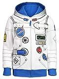 Funstuff NASA Astronaut Toddler Boys Costume Hoodie Fleece Zip-Up 4T