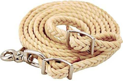 NRS Waxed Nylon Roping Reins Max Nashville-Davidson Mall 66% OFF in 8 ft 5 x