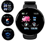 Smart Watch,Fitness Tracker Watch with Heart Rate Blood Pressure Monitor IPX67 Waterproof Bluetooth Smartwatch Sports Activity Tracker Smart Bracelet for Men Women Kids Compatible iPhone Android