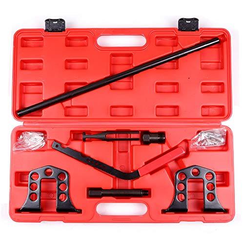 SCITOO Valve Spring Remover Installer Compressor Tool Kit OHV OHC Petrol, Car Engine
