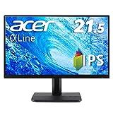 Acer モニター ディスプレイ AlphaLine 21.5インチ ET221Qbmi フルHD IPS フレームレス HDMI D-Sub スピーカー内蔵 ブルーライト軽減 VESA対応