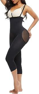 FEDNON Women's Plus Size Tummy Control Shapewear Slimmer Open Bust Bodysuit Body Shaper