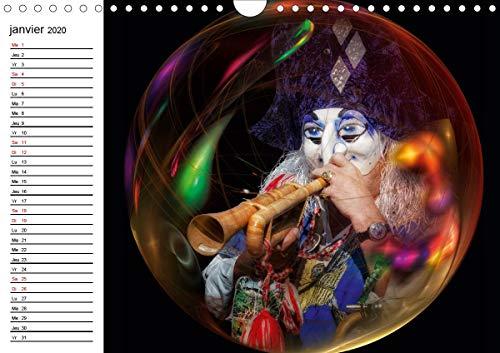 Les Waggis a Bale 2020: Quelques masques traditionnels du carnaval de Bale (Calvendo Art)