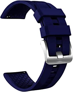 Shinesky Replacement Sports Silicone Watch Band Wrist Strap for Huawei Watch GT2 46mm