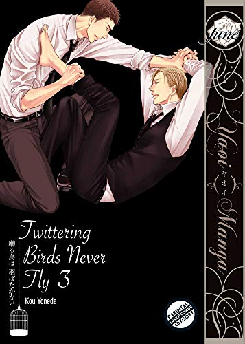 Twittering Birds Never Fly Vol. 3 (Yaoi Manga) (English Edition)