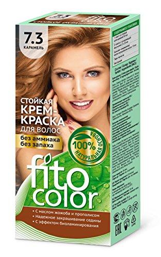 FITOCOLOR Haarfarbe karamel, 50 ml Стойкая крем-краска для волос (цвет карамель) FITOCOLOR