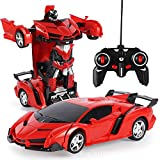 Akemaio 2-in-1 RC Roboter Transformator Auto RC Auto Transformator Fahren Auto Sport Auto Dekoration Modell Roboter Fernbedienung Auto
