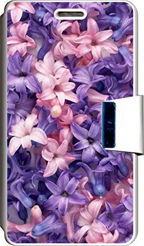 SUPER STICKER Funda Libro para Samsung Galaxy Trend/Trend Plus Cover Flip Blanco, con Dibujo, Ref: 204