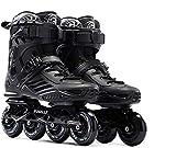 Lloow Deporte Patines en línea, Patines de Moda para niñas y niños, Apto para Principiantes Profesional Patinaje de Velocidad Zapatos,38
