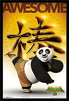 Kung Fu Panda 3 Awesome Wall Poster 22 375 X 34 Poster