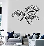 wandaufkleber gamer Vinyl Wand Erklärung Familie DIY Dekor Kunst Aufkleber Wohnkultur Wandkunst Video Gamer Joysticks Playstation