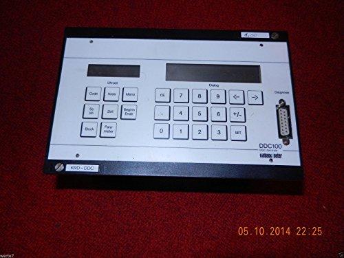 kieback&peter KRD-DDC 100 Zentrale mit Steckleiste,geprüft ist100%OK,TOP Zustand