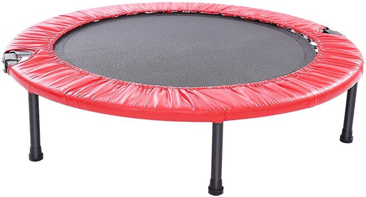 HANSHAN Trampoline, Trampoline,Folding Trampoline Portable Exercise Trampoline Safety Pad for Kids Adults 2 color 41 × 9 Inch