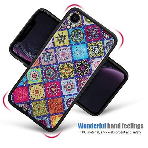 『カバー、快適な手触りの電話ケース、TPU素材の衝撃吸収性デザインにより携帯電話を保護(iphone XR)』の8枚目の画像