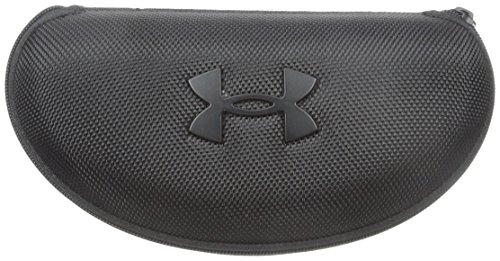 Under Armour unisex adult Hard Sunglasses Eyeglass Case, Black, One Size US