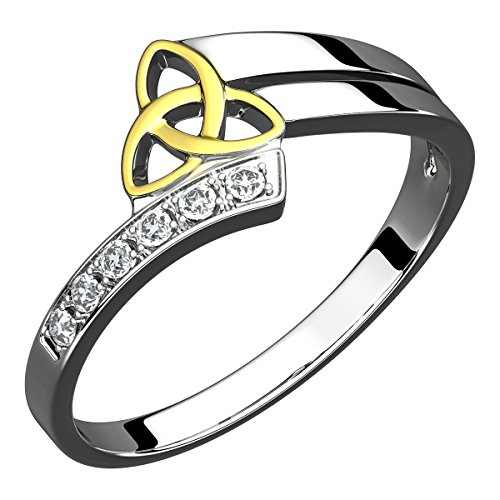 GWG Jewellery Anillos Mujer Regalo Anillo Celta...