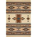 United Weavers of America 940 36014 Manhattan Collection Indoor Rug 5'3 x 7'6 Berber [並行輸入品]
