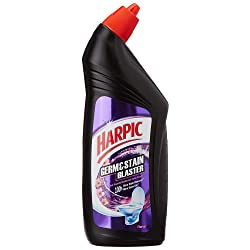 Harpic Germ & Stain Blaster Disinfectant Toilet Cleaner - 750ml (Floral)