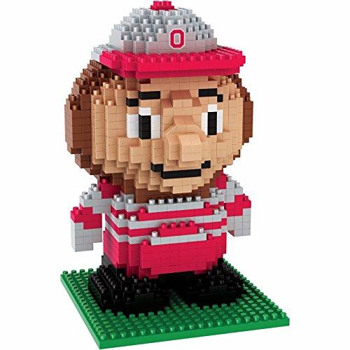 Ohio State Buckeyes NCAA BRXLZ 3D Building Blocks Set Mascot