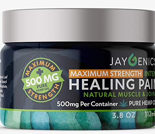 JAYGENICS Hemp Oil Pain RUB (3.8)