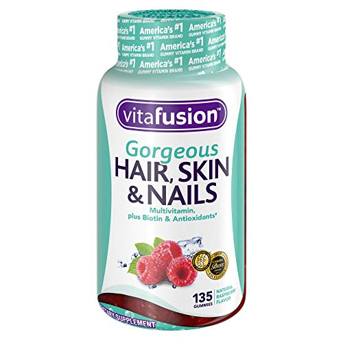 Vitafusion Gorgeous Hair, Skin & Nails Multivitamin Gummy Vitamins, 135ct