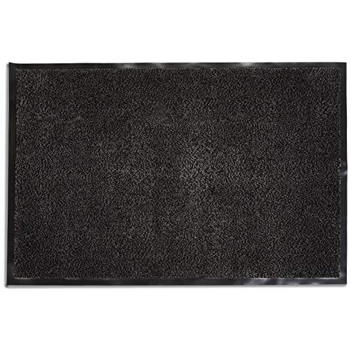 AmazonBasics antislip deurmat, polypropyleen, 60 x 90 cm