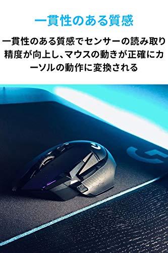 『Logicool G ゲーミングマウスパット G240t クロス表面 標準サイズ 国内正規品』の3枚目の画像