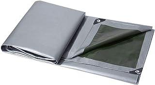 オーニング シェード HCGS UV Pe Thick 0.32mm防水布屋外ガーデンコートヤード多肉植物植物ペットハウス防水日焼け止めサンシェードクロス 3x3 m 銀色