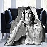 Damon_sa-lvatore Ian Somerhalder Soft and Comfortable Warm Fleece Blanket for Sofa, Bed, Office Knee pad,Bed car Camp Beach Blanket Throw Blankets
