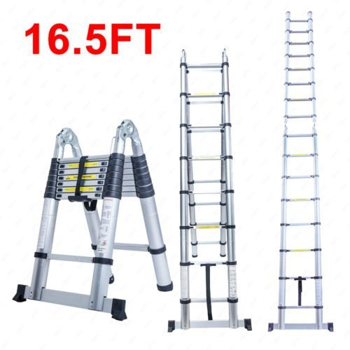 7. Balance World 16.5 Aluminium Telescoping Ladder