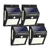 focos led exterior solares Cubierta solar al aire libre ligera...