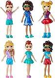 TrendyMaker Original Mattel Polly Pocket Figuras de coleccionista, Diferentes muñecas para Elegir