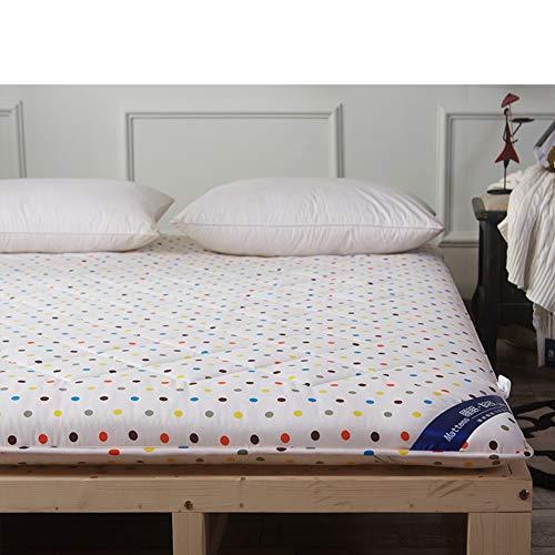 JINDSMART Alfombrilla de Tatami para Dormir, colchón de Suelo japonés, colchón de futón, colchón de futón Shiki, colchón Plegable, Espacio de meditación, colchón de tamaño Completo para Sala Zen