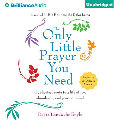 The Only Little Prayer You Need,     The Shortest Route to a Life of Joy, Abundance, and Peace of Mind               By:                                                                                                                                 Debra Landwehr Engle                               Narrated by:                                                                                                                                 Debra Landwehr Engle                      Length: 2 hrs and 28 mins     48 ratings     Overall 4.8