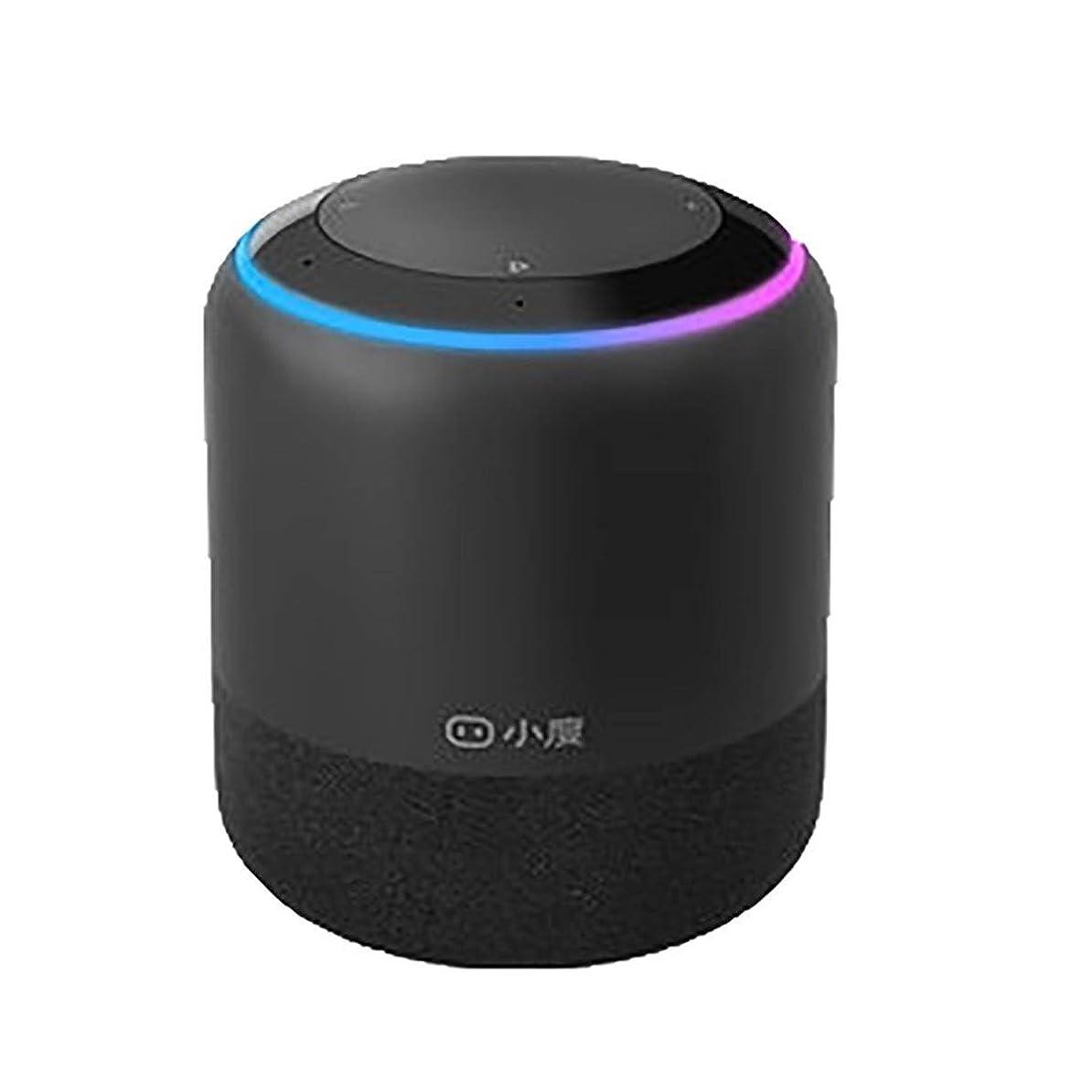 流用する錫トラックXIAOXIAN 小型インテリジェントスピーカー1S公式本物のAIロボットホームBluetoothの音声通話無線LANオーディオ小杜 (Color : Black)