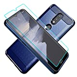 Cuoqing Nokia 2.4 Case, With HD Screen Protector, Soft TPU