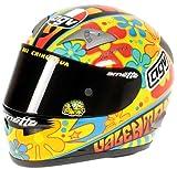 Minichamps 327030086 - Casco AGV - Valentino Rossi, Campione del Mondo, Moto GP Valencia, Scala: 1:2
