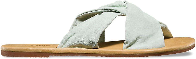 Vans Women's Ayla Slide Sandals Suede Bay