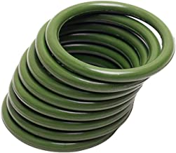 Replacement For Ford 6.0L Powerstroke Diesel High Pressure Oil Rail Ball Tube Green O-Rings( 8 PCS )