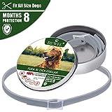 Collar Antiparasitos Perro contra Pulgas, Garrapatas y Mosquitos para perros Anti-pulgas...
