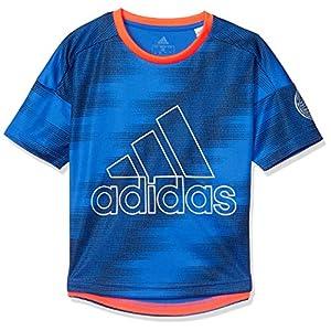 [アディダス] 半袖 Tシャツ キッズ TR トレーニング 半袖Tシャツ GSV25 ブルー(FM2893) 日本 J140 (日本サイズ140 相当)