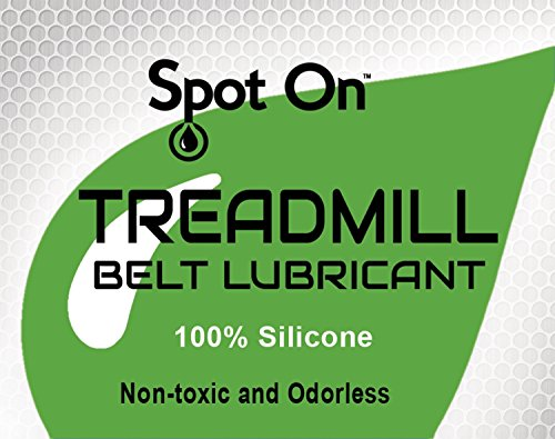 Spot On 100% Silicone Treadmill Belt Lubricant/Treadmill Lube - Made in The USA - Easy Squeeze/Controlled Flow Treadmill Lubricant