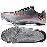Spikes Zapatos Atletismo Zapatos Hombre De Atletismo de Alta Elasticidad...