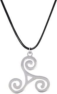 Celtico Triskel 925´er Sterling Argento simbolo di fortuna portafortuna