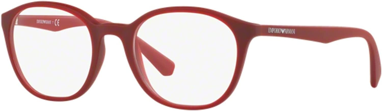 Armani EA3079 Eyeglass Frames 559151  Opaline Red