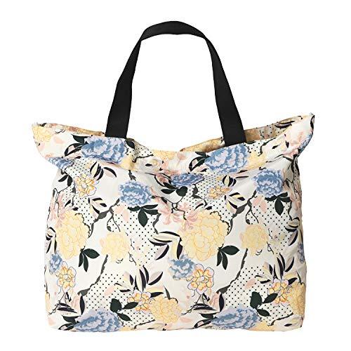 Becksöndergaard Shopper Damen Sitella Foldable Bag Falttasche Einkaufstasche Handtasche Blumenmuster Pastell 100% Recycled Nylon - 2001435002-018